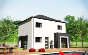 Creactuel constructeur de maisons individuelles rennes for Constructeur maison individuelle kaufman