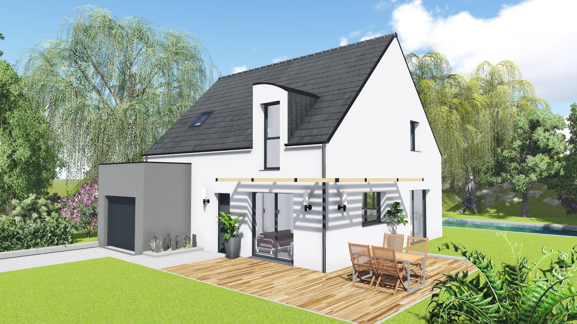 Constructeur maison neuve bretagne for Maison neuve constructeur