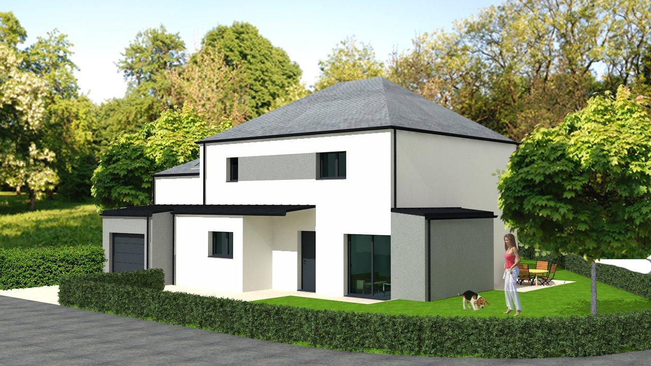 Maison neuve NOTRE DAME DES LANDES (44130) - Maison 150m2, 4 Ch ...