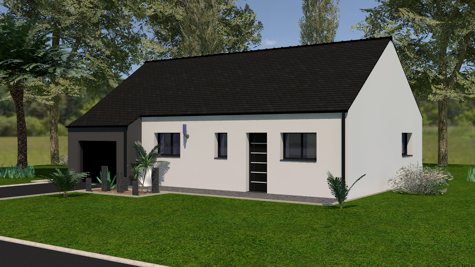 Constructeur Maison Neuve Ille Et Vilaine maison modèle ouessant - 3 chambres - garage, creactuel