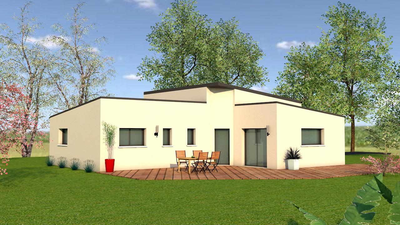 maison neuve vigneux de bretagne 44360 maison 97m2 3. Black Bedroom Furniture Sets. Home Design Ideas