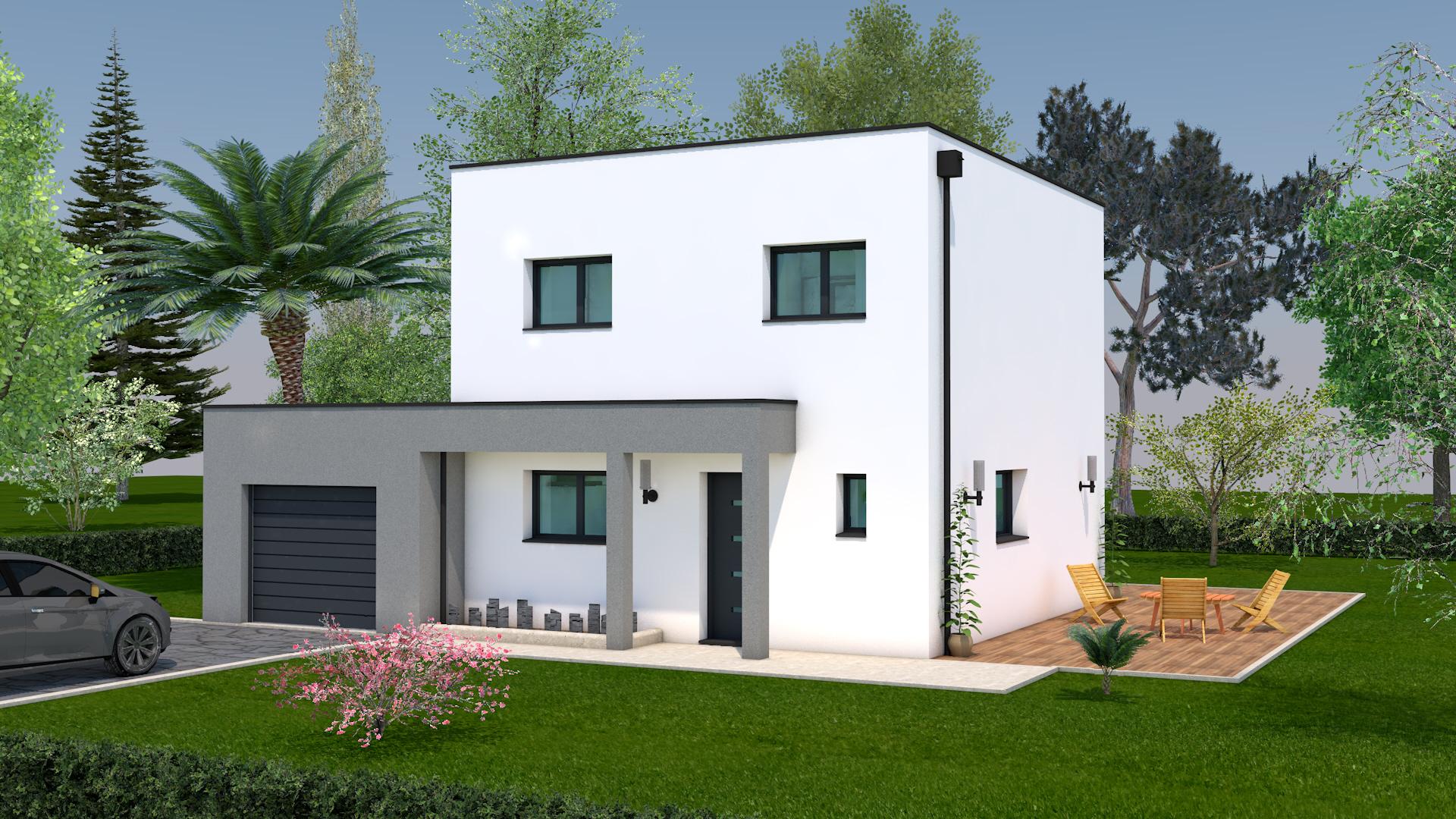 Construction De Maison A Toit Plat Dans Le Bas Rhin Beral 15