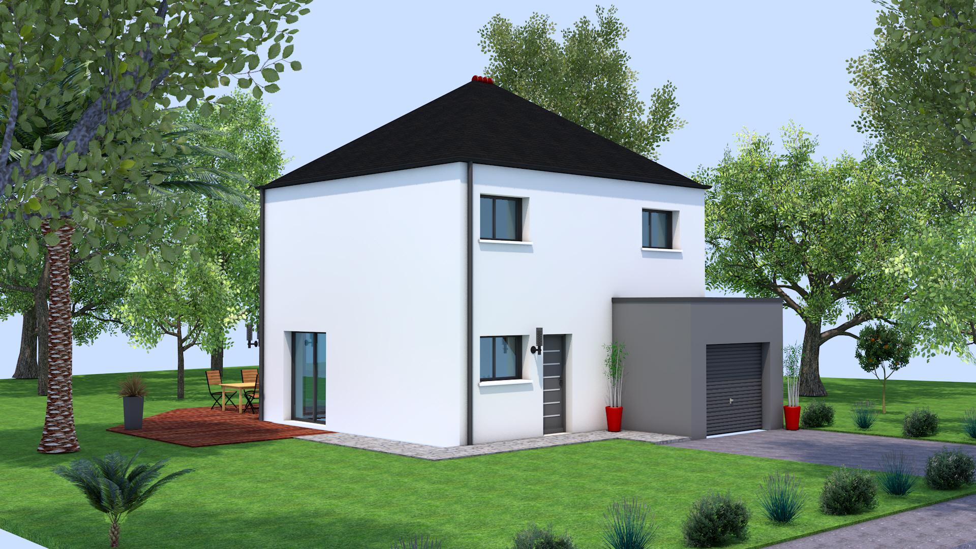 Constructeur Maison Neuve Ille Et Vilaine maison neuve sens de bretagne (35490) - maison 90m2, 3 ch