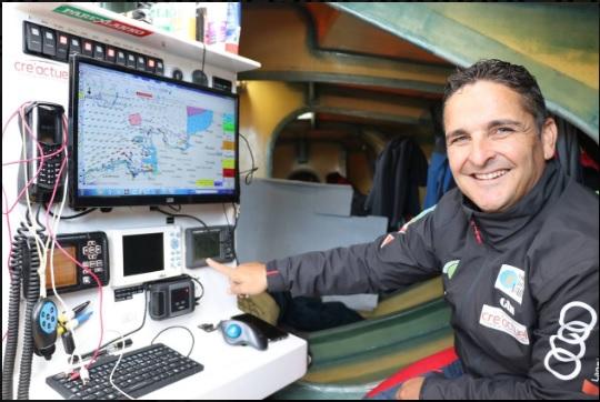 Vincent LEBLAY, skipper de la Transat Jacques Vabre